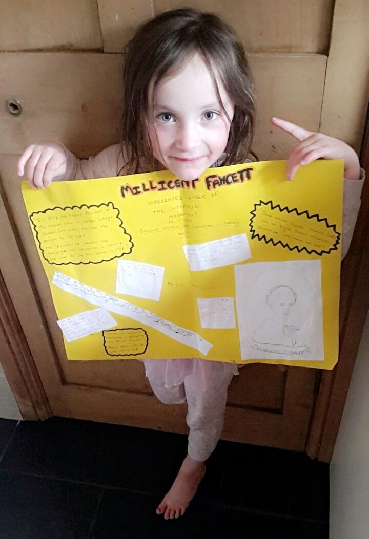 poster of Millicent Fawcett