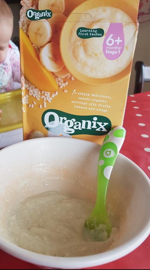 Organix porridge