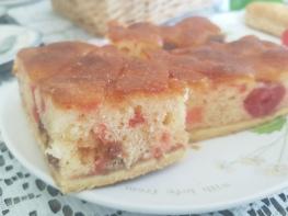 cherry almond slices