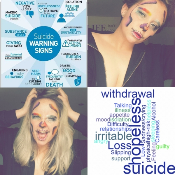 world suicide prevention day - image displaying emotions