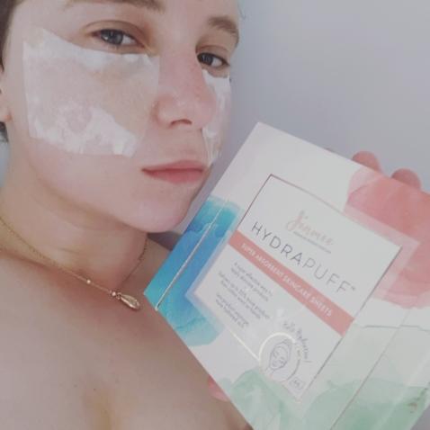 jinmee hydrapuff face mask