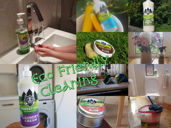 foresthog eco cleaning items