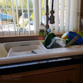 eco friendly dish washer and hand wash safe