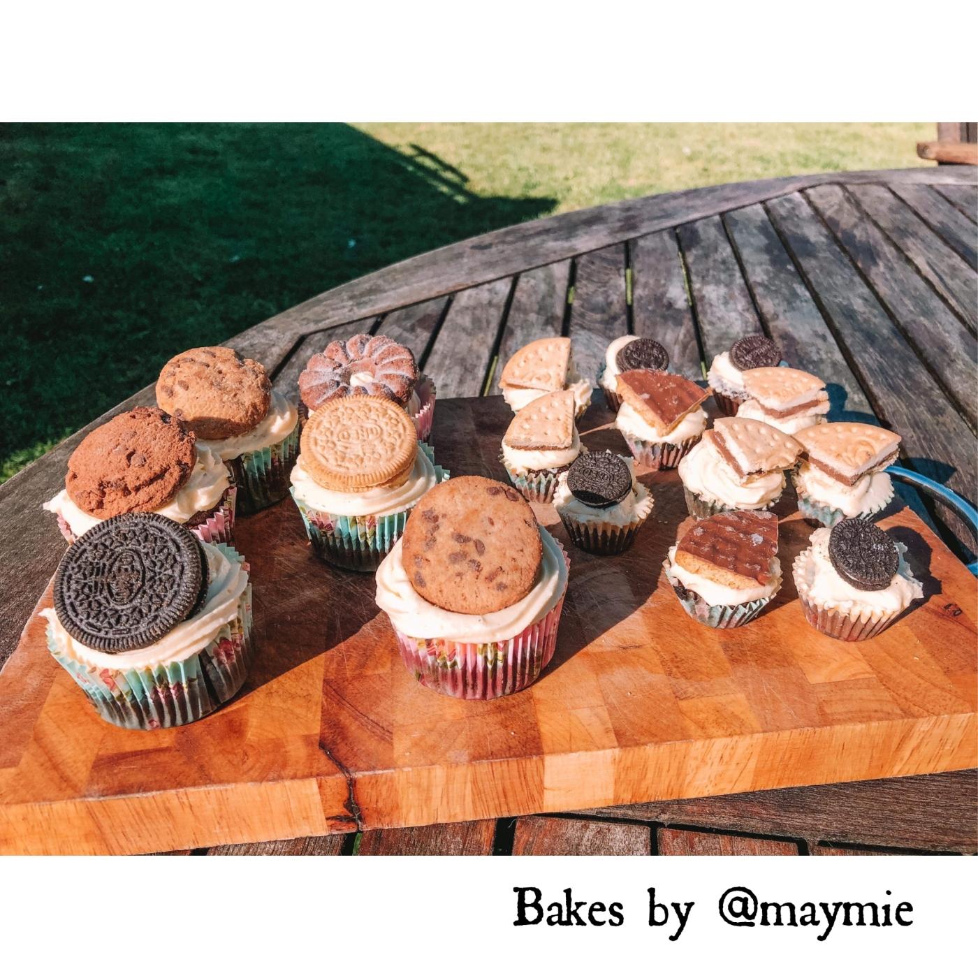 COOKIE CREAM CAKES